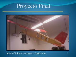 Master Of Science Aerospace Engineering