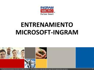 ENTRENAMIENTO MICROSOFT-INGRAM