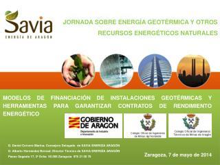 JORNADA SOBRE ENERGÍA GEOTÉRMICA Y OTROS RECURSOS ENERGÉTICOS NATURALES