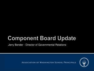 Component Board Update