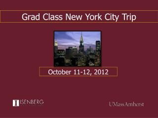 Grad Class New York City Trip