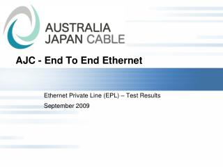 AJC - End To End Ethernet