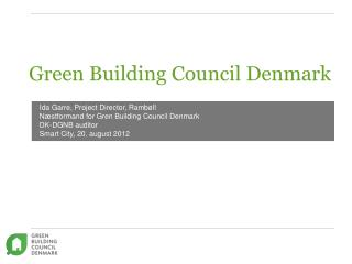Green Building  Council  Denmark
