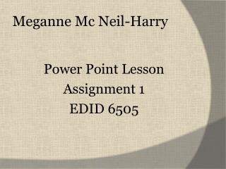 Meganne Mc Neil-Harry