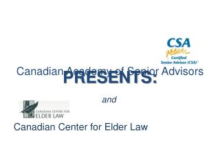 Canadian Center for Elder Law