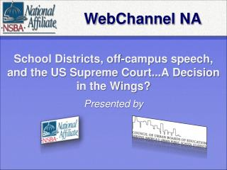 School Districts, off-campus speech, and the US Supreme Court...A Decision in the Wings?