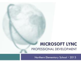 Microsoft  lync professional development