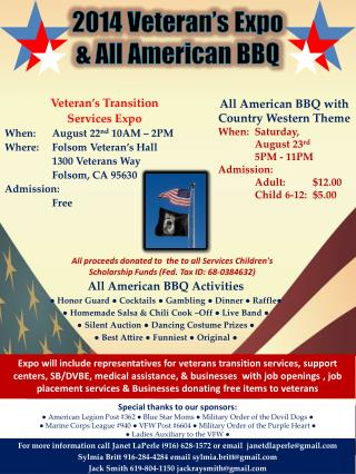 2014 Veteran's Expo & All American BBQ