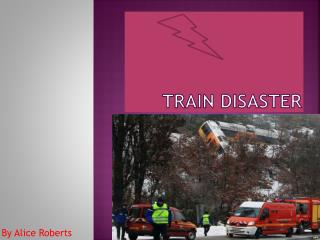 Train  disaster