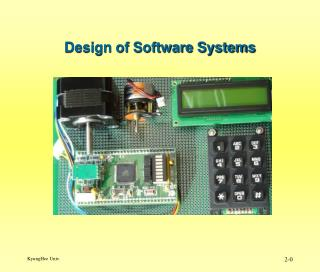 Design of Software Systems