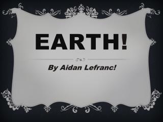 Earth !