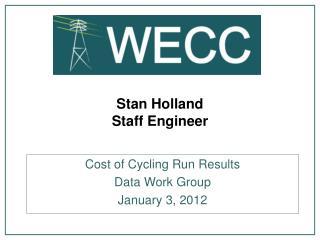 Stan Holland Staff Engineer
