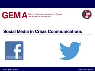 Social Media in Crisis Communications