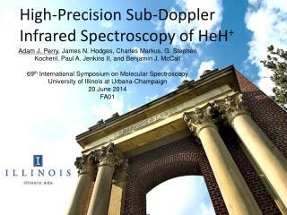 High-Precision Sub-Doppler Infrared Spectroscopy of  HeH +