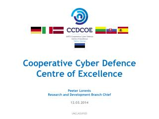 Cooperative Cyber Defence  Centre of Excellence