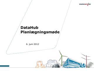 DataHub Planlægningsmøde