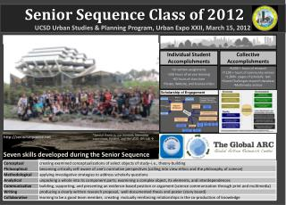 Senior Sequence Class of  2012