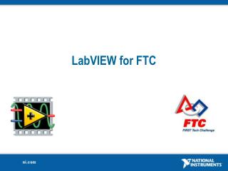 LabVIEW for FTC