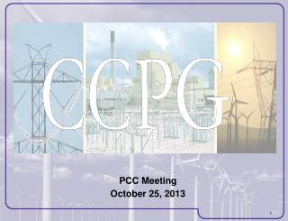 PCC Meeting October 25, 2013
