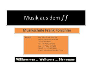Musik aus dem  ƒƒ