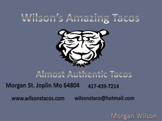 Wilson's Amazing Tacos