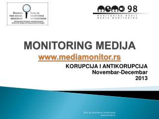 MONITORING  MEDIJA mediamonitor.rs