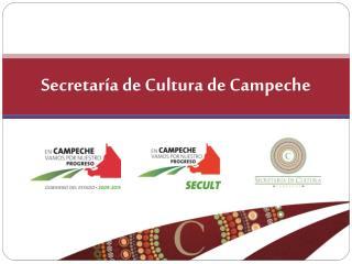 Secretaría de Cultura de Campeche
