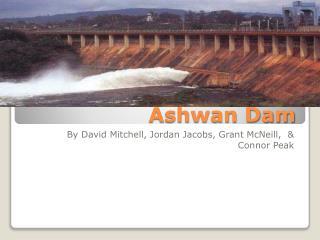 Ashwan Dam