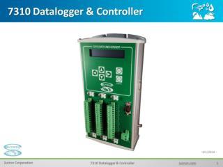 7310  Datalogger & Controller