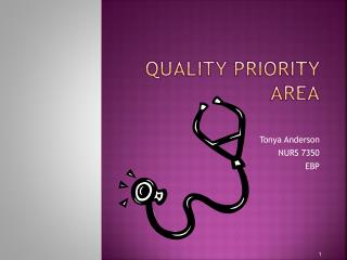 Quality Priority Area