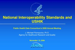 National Interoperability Standards and USHIK