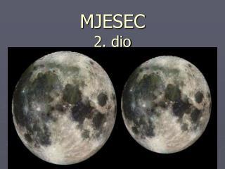 MJESEC  2 . dio