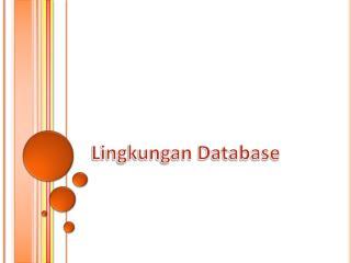 Lingkungan Database