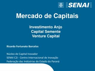 Investimento Anjo Capital Semente Venture  Capital