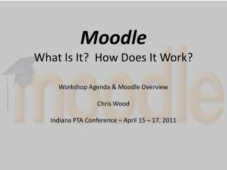 Moodle What Is It?  How Does It Work?