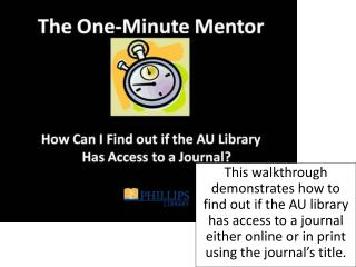 """From the library's home page, select the link """"Find Articles"""" on the left menu."""