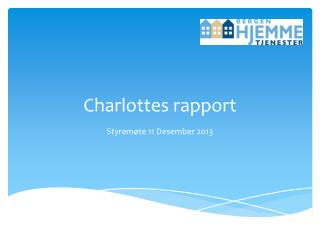 Charlottes rapport