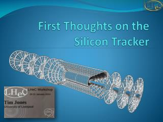 First Thoughts on the Silicon Tracker