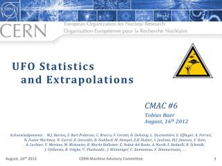 UFO  Statistics and Extrapolations