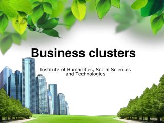 Business clusters