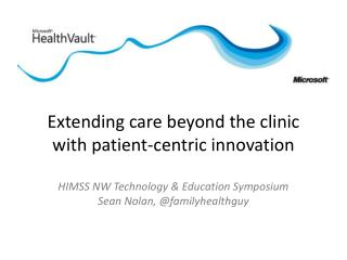 The Patient-centric  information hub