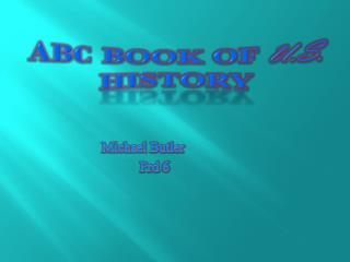 ABC Book of  U.S. History