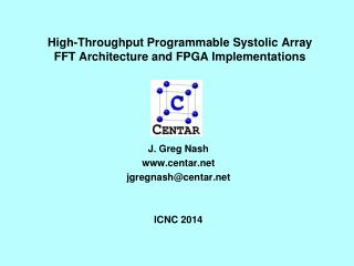 High-Throughput Programmable Systolic Array FFT Architecture and FPGA Implementations