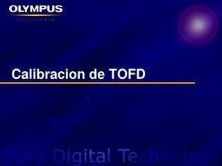 Calibracion  de TOFD