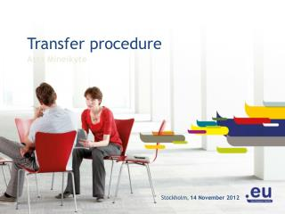 Transfer procedure