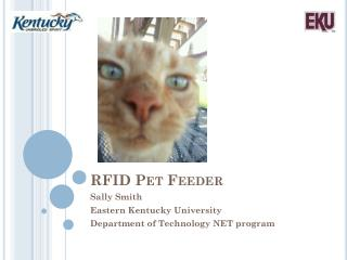 RFID Pet Feeder