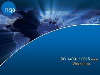 ISO 14001 : 2015  Workshop