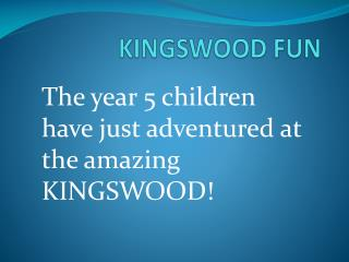 KINGSWOOD FUN
