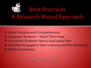 Best Practices  A Research-Based Approach