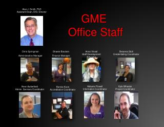GME  Office Staff